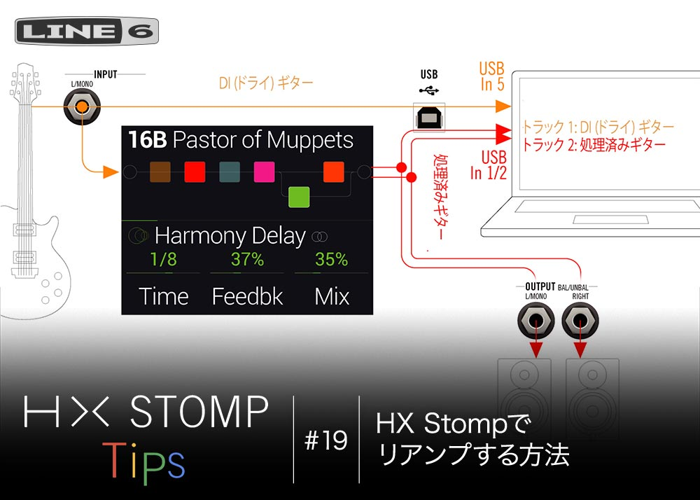 HX Stomp Tips 第19回